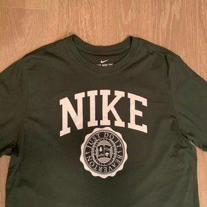 Nike Just Do It Beaverton T Shirt Olive Green Sz L